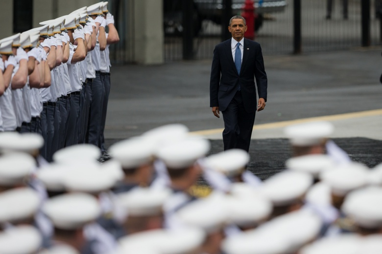 Barack Obama Gets Realistic at West Point