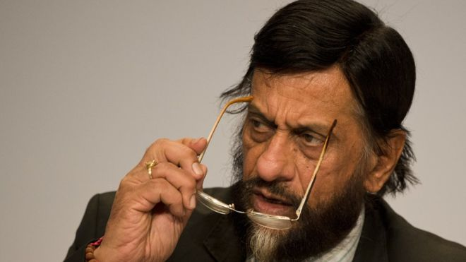 RK Pachauri: Ex-UN climate head charged with sexual harassment