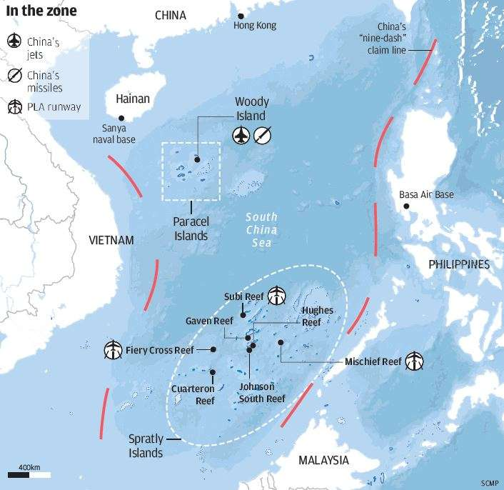South China Sea Case China Has Right To SetUp Air Defence Zone