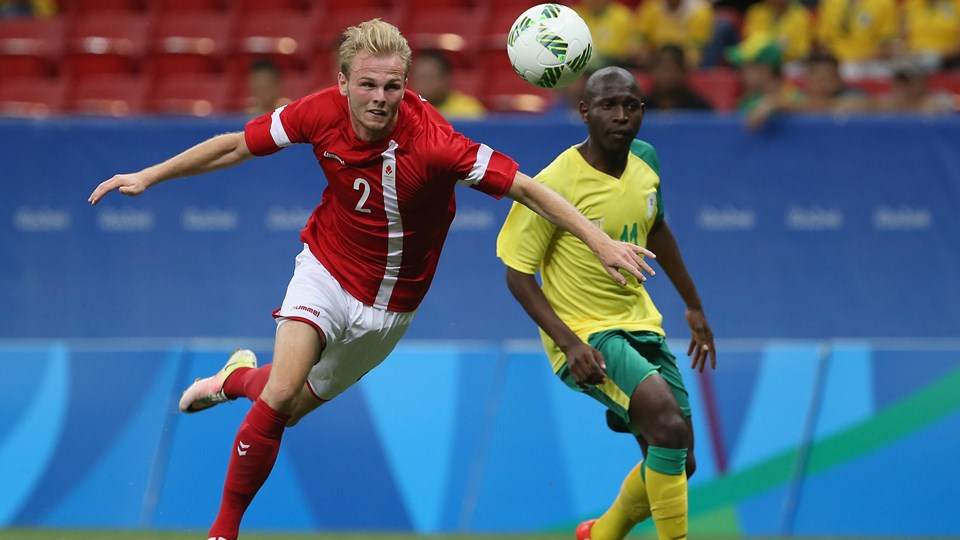 Denmark get by South Africa 1-0
