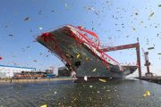China launches its first domestically-made aircraft carrier