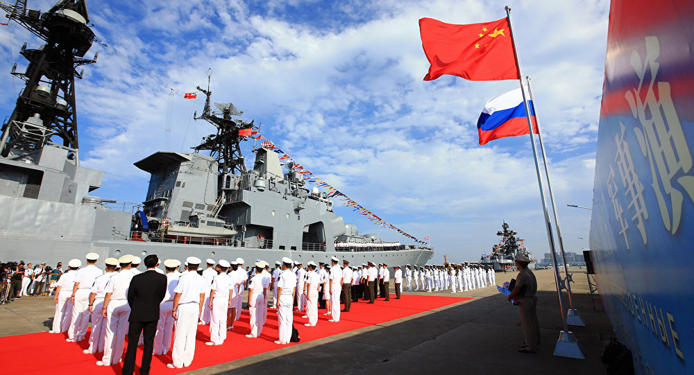 China and Russia Sign Military Cooperation Roadmap