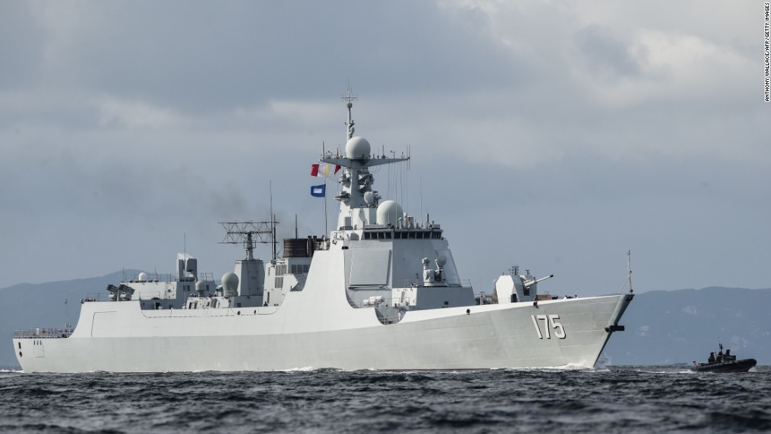 China's navy expands reach: Ships in Baltic for drills with Russia