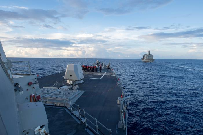 UK to Challenge China in the South China Sea