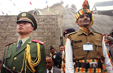 China-India tensions heat up as soldiers hurl stones at each other in Kashmir