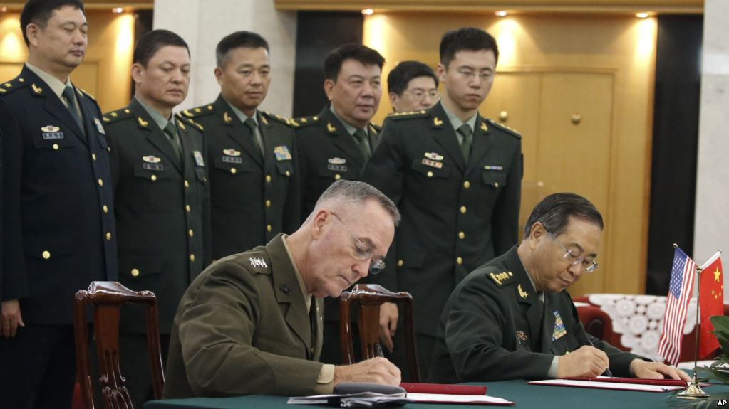US, China Sign Communication Deal Amid Heightened Tensions on Korean Peninsula