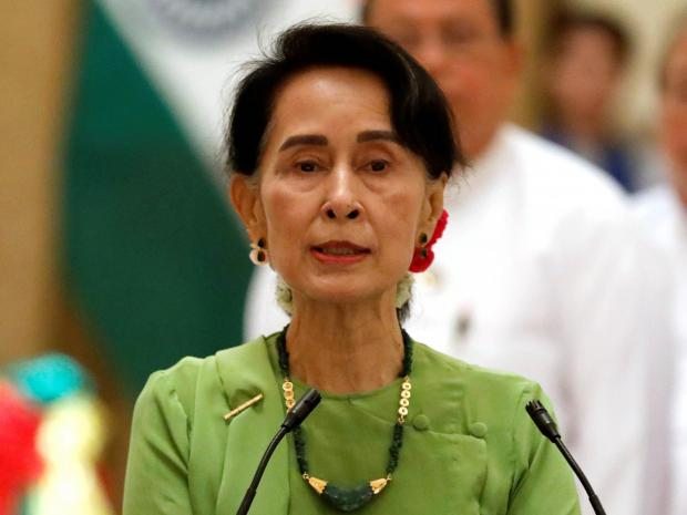 Myanmar's Nobel Peace laureate is hiding from the world as her country moves closer to genocide