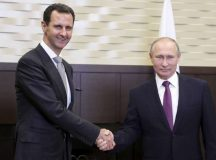 Assad and Putin Meet, as Russia Pushes to End Syrian War