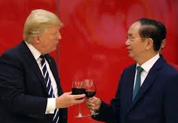 Trump urges Vietnam to buy US missiles