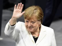Germany's Angela Merkel Begins 4th Term On Shaky Ground