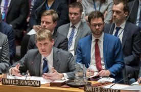 Spy poisoning: allies back UK and blast Russia at UN security council