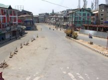 Complete shutdown over Article 35-A brings Kashmir to a standstill