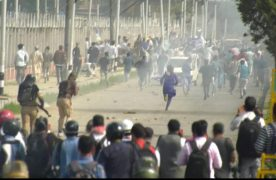 Kashmir protests: Violence mars Eid celebrations