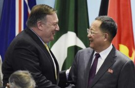 North Korea hits back at United States over sanctions enforcement