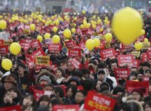 S. Korea probes army plan for troops to control protesters
